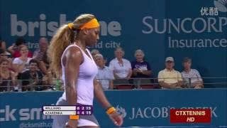 Serena Williams VS Victoria Azarenka Highlight 2014 F