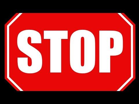 Знак 2.5. Движение без остановки запрещено