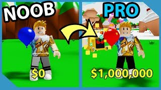 Noob To Pro! Full Team of Dominus Pets! Fire Water Balloon! Roblox Water Balloon Simulator
