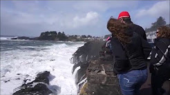 Winter Storms on the Oregon Coast 2016 -  Lincoln City  & Newport 2016