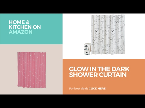 Glow In The Dark Shower Curtain // Home & Kitchen On Amazon