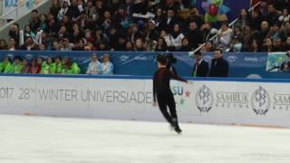 Полное выступление Дениса Тена на Универсиаде-2017