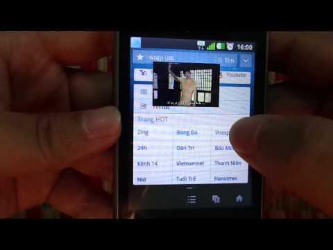 Khả năng đa nhiệm của LG L3 E400 - Multitasking on LG L3 E400