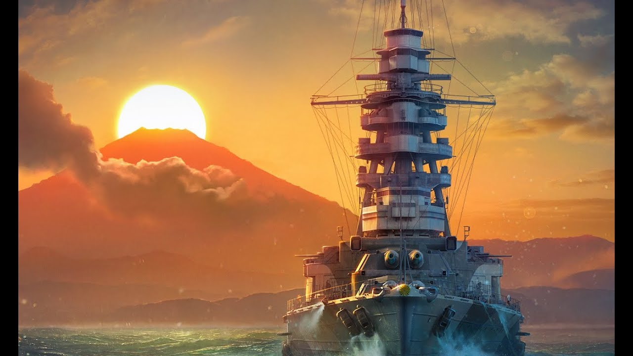 Mutsu & Friends | World of Warships Legends Console