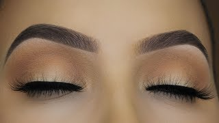 Soft Eyes and Brows Makeup tutorial