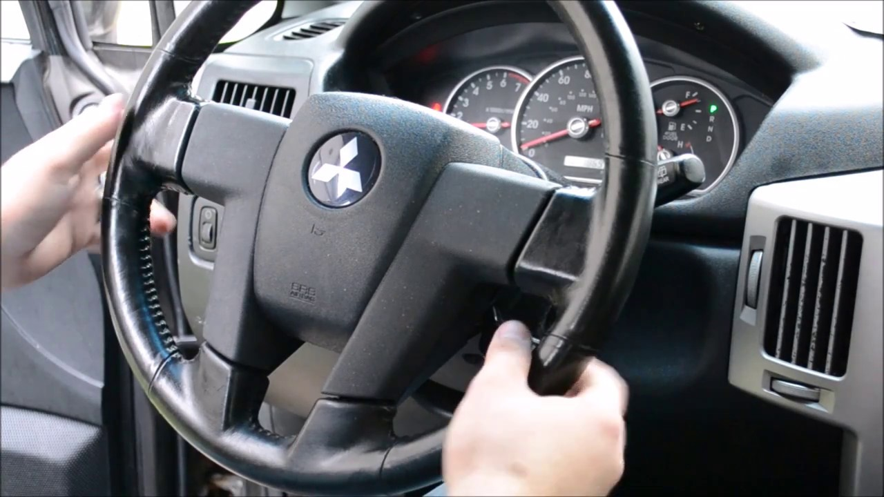 Steering Wheel Removal With No Tools And Replacement Youtube 2004 Mitsubishi Endeavor Srs Wiring Diagram