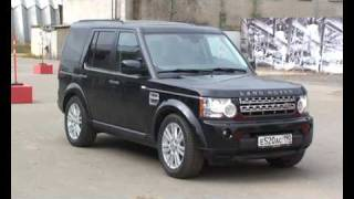 Discovery 4 Range Rover Land  Rover 2010 Дискавери 4 презентация