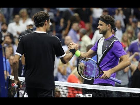 Tennis Channel Live: Grigor Dimitrov Shocks Roger Federer In 2019 US Open Quarterfinals