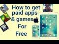 Get PAID Apps, Games FREE on iOS 11.0.3 (NO JAILBREAK) (NO COMPUTER) (NO REVOKE) iPhone, iPad, iPod