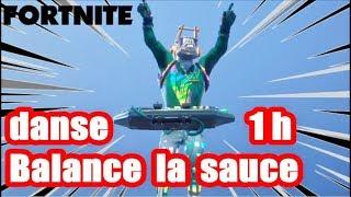 Download lagu Fortnite danse balance la sauce 1h MP3
