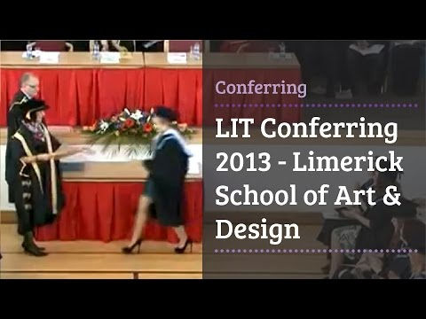 LIT Conferring 2013 - Limerick School of Art & Design