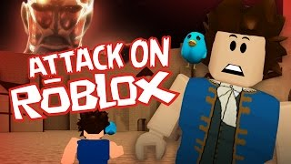 Attack on Roblox! (Roblox Survive the Disasters)