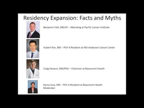 ACRO Resident Webinar | Residency Expansion:  Facts and Myths