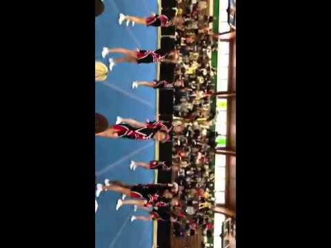 Lenape Middle School Cheerleading 2012