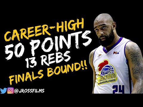 56ffa5c14c2d Romeo Travis EPiC 50 POINTS Full Highlights vs. Ginebra (SF GM4) 11.16.