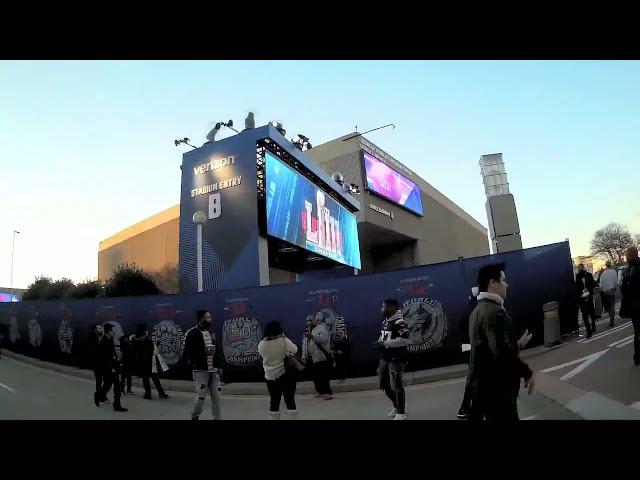 2019 Super Bowl LIII in Atlanta - Street Preaching on Friday Before - Kerrigan Skelly