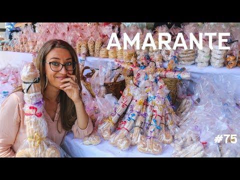 'QUILHÕEZINHOS DE SÃO GONÇALO', o doce em formato fálico de AMARANTE, Portugal