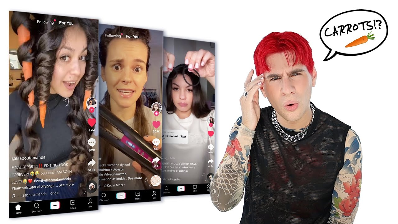 Download I Tried Weird Tiktok Hair Hacks So You Don't Have To! Pt. 2