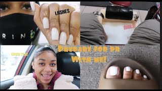 PREPARING WITH ME FOR PUERTO RICO| (NAILS, COVID TESTING, LASHES, ETC..)