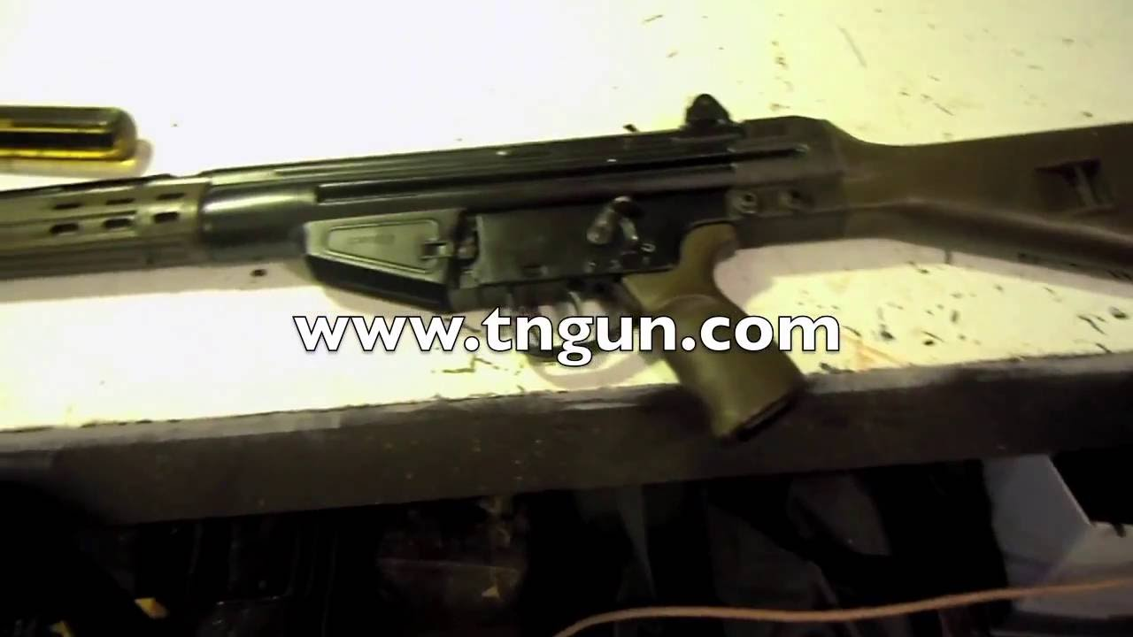 Installing an HK G3 Stock on a Cetme