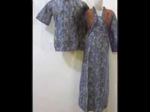 Batik Sarimbit Gamis - Sega Shaseli Shop