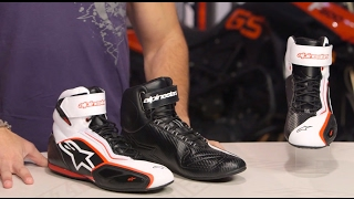Alpinestars Faster 2 Shoes Review at RevZilla.com