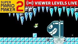 Super Mario Maker 2 Viewer Levels! (read description for level submission rules)