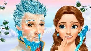 ЧТО СЛУЧИЛОСЬ С ПРИНЦЕМ? в ледяном САЛОНЕ КРАСОТЫ | Делаем прически и макияж в игровом мультике