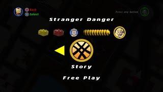 Lego Marvel Superheroes - Deadpool Bonus Mission #7 - Stranger Danger - Free Play Mode!!!!!