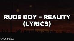 Rude Boy - Reality (Karaoke & Lyrics)