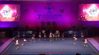 "7th World Cheerleading Championships 2013, Thailand, Day 2, Open category""Jr BEARS"""