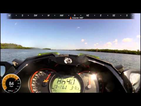 84 MPH on the 2016 Sea-Doo RXP-X 300