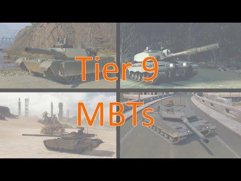 Tier 9 MBTs