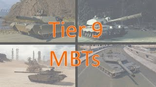 tier 9 mbts in armored warfare challenger 2 t 90ms m1a2 abrams leopard 2a6