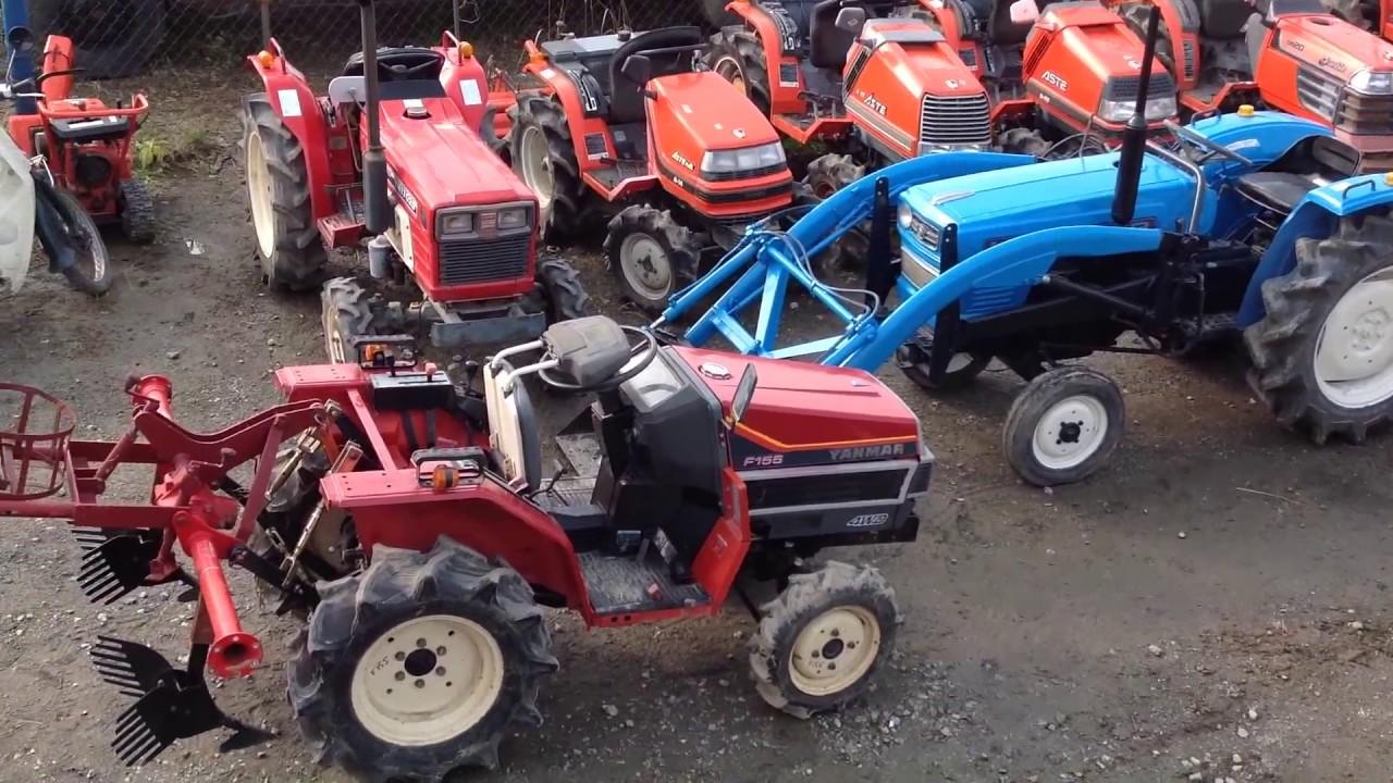 Японские мини трактора и двигателя на них - лучшее для вас.
