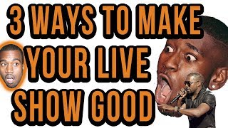 3 Amazing Tips For Your 1st Live Rap Show