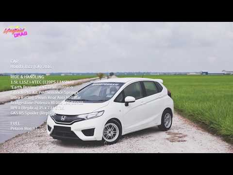 Honda Jazz/Fit GK 2016 Acceleration 0-100