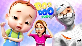 The Boo Boo Song | Nursery Rhymes For Kids | Boo Boo Story | Baby Ronnie Rhymes