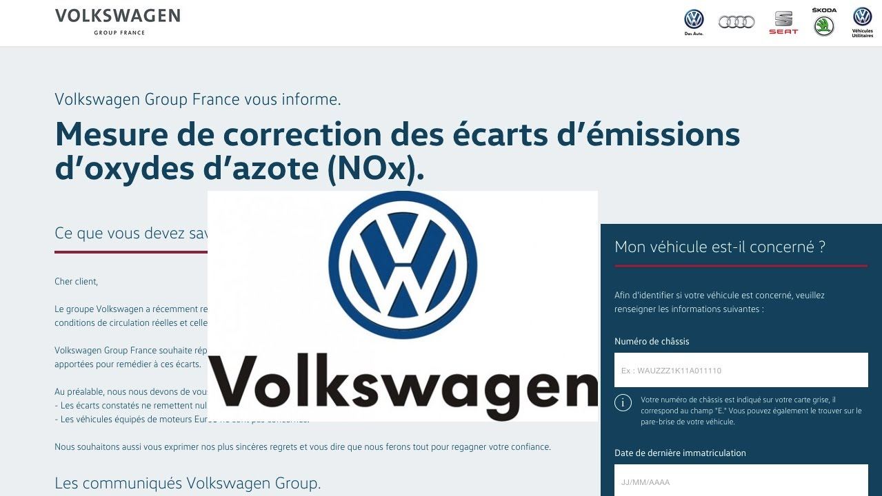 comment savoir si votre volkswagen a le logiciel truqu youtube. Black Bedroom Furniture Sets. Home Design Ideas