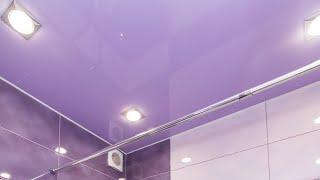 Подбор цвета глянцевого натяжного потолка из каталога