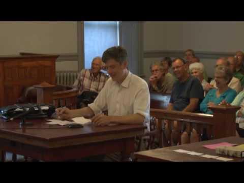 Grand Isle-Chittenden Democratic State Representative Candidate Forum