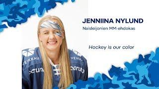 Naisten MM-ehdokkaat esittäytyvät - Hyökkääjä Jenniina Nylund