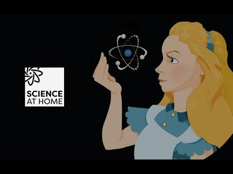 Alice Remote Quantum Experiment - The physics explanation