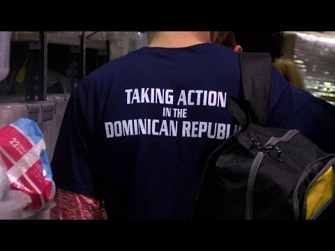 Students aid school, clinic in Dominican Republic