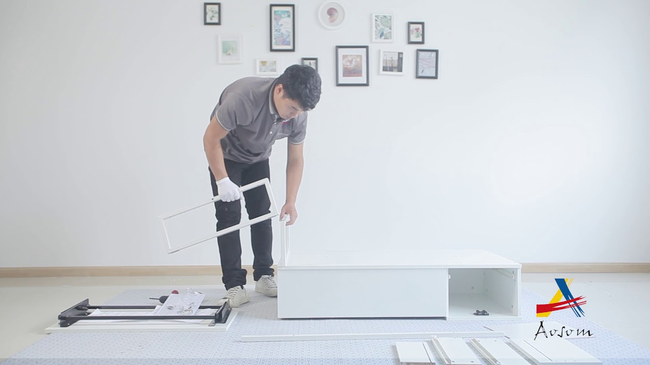 HOMCOM Foldable Wood Lift Top Coffee Table Convertible Tea Desk Furniture  833 044