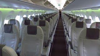 TRIP REPORT | Air Baltic Airbus A220-300 (ECONOMY) | Berlin Tegel to Riga | Empty Flight!