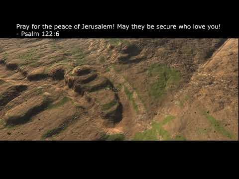 The Topography Of Jerusalem! You Must See This!