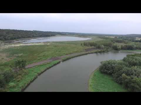 Aerial Footage of the Upper Sioux Agency and Reservation