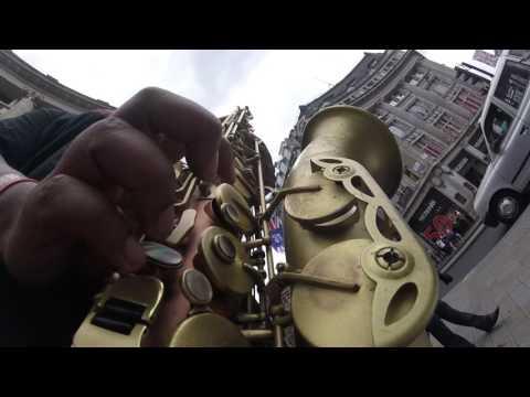 I Wish - Stevie Wonder | Carl Catron | Busking | London