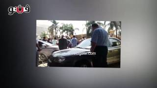 مصرع شخصين في انقلاب سيارة أعلى كوبري 6 أكتوبر